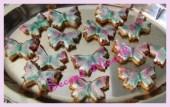 cookies butterflies
