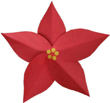 picture about The Legend of the Poinsettia Printable Story named December E-book-a-Working day 15: The Legend of the Poinsettia