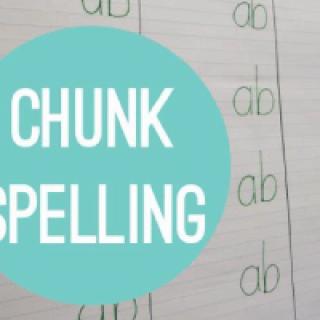 """Chunk"" Spelling"