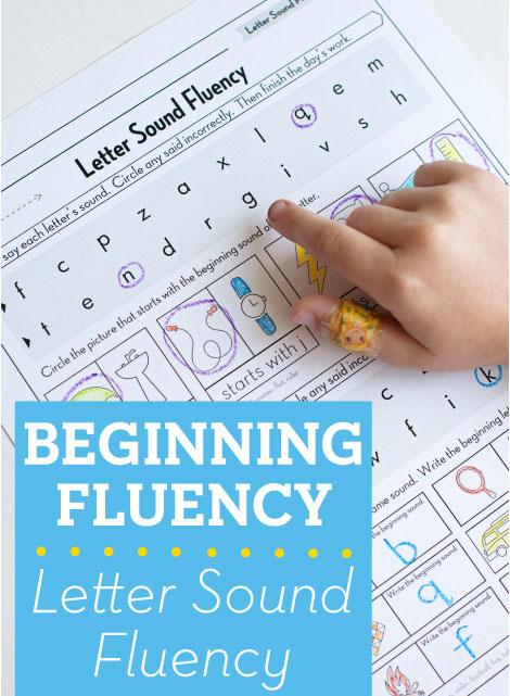 Beginning Fluency: Letter Sound Fluency