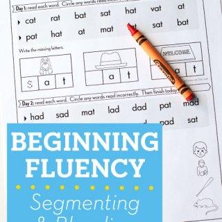 Beginning Fluency: Segmenting & Blending (SBF)
