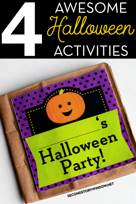 4 Awesome Halloween Activities