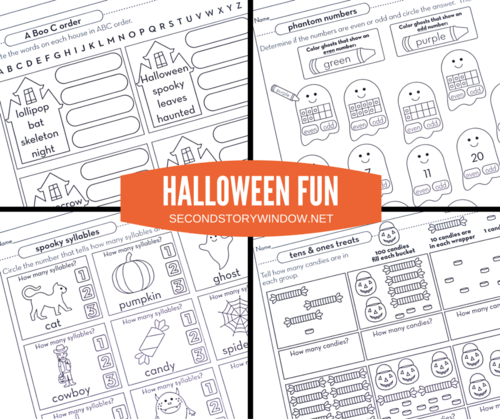 Halloween Fun: Carving Out Time to Learn! Differentiated activities for grades 1-4.