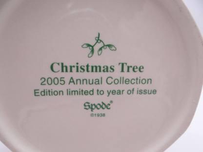 Spode Christmas Tree Poinsettia Pot in Original Box