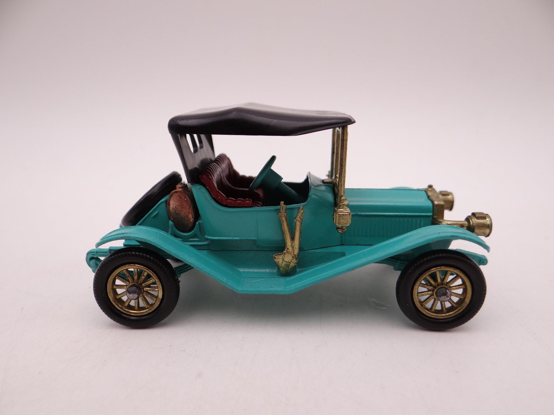 Mib Vintage Matchbox Y 14 Models Of Yesteryear 1911 Maxwell Roaster Die Cast Car