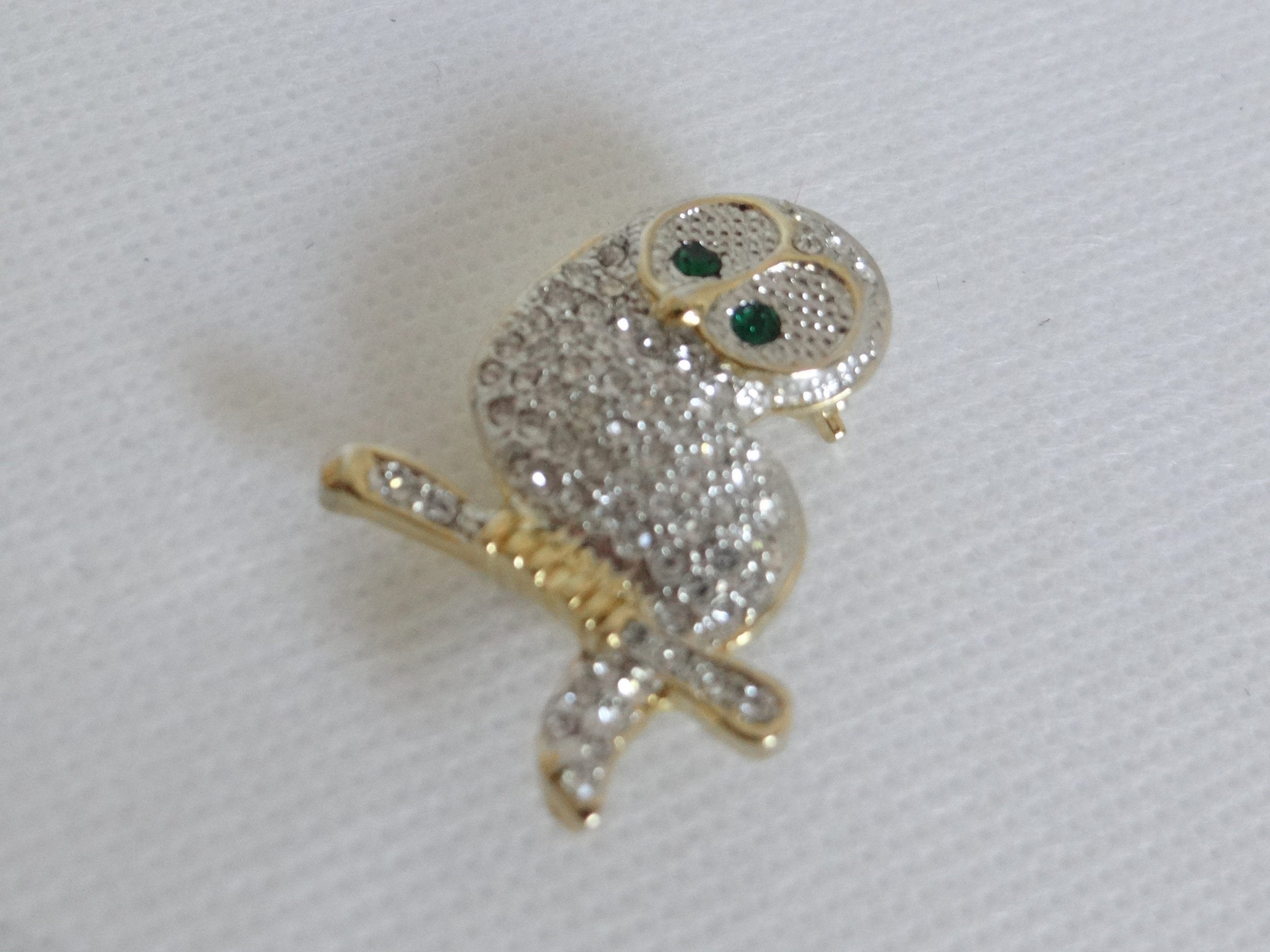 Owl Rhinestone Brooch Pin Vintage Unique Newest Style Best Individual lskn