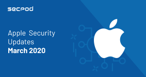 Apple Security Updates March 2020 and Adobe Creative Cloud Critical Security Update