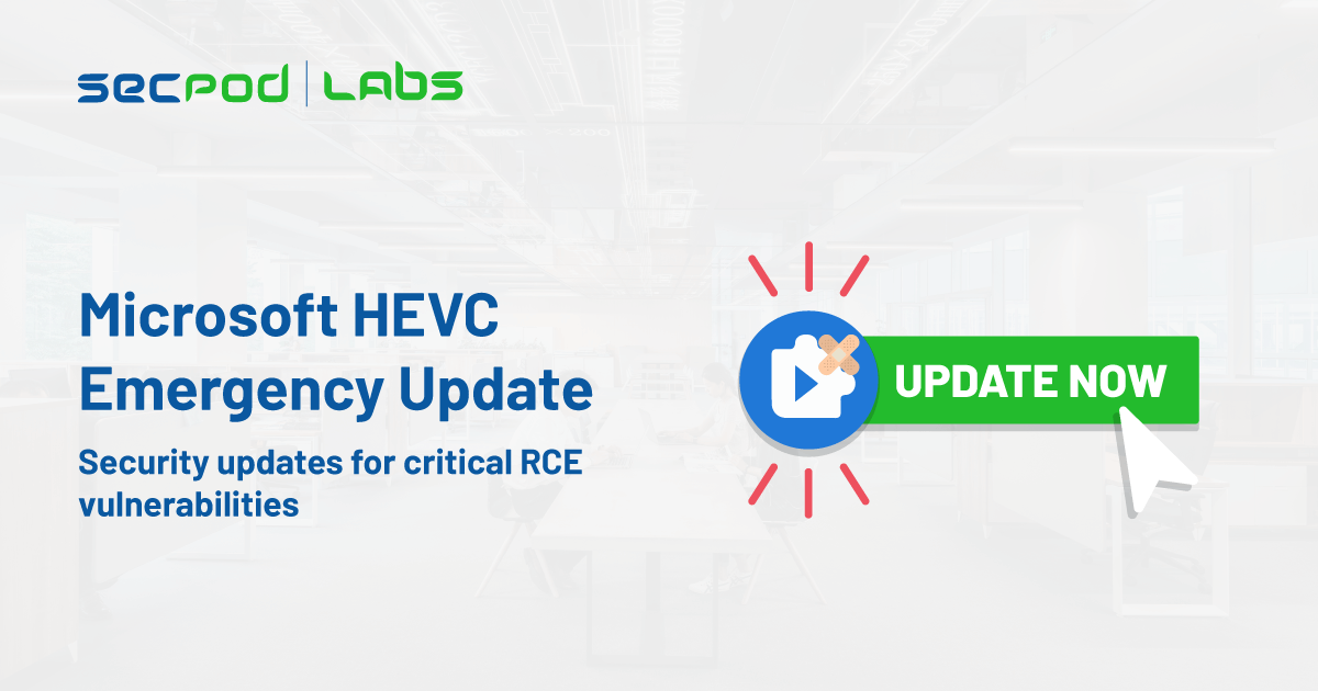 You are currently viewing Microsoft HEVC emergency security updates for critical RCE vulnerabilities