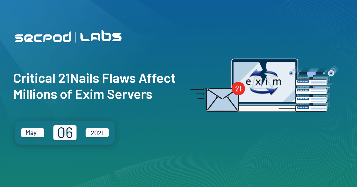 You are currently viewing Critical 21Nails Flaws Affect Millions of Exim Servers