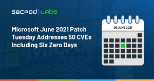 Read more about the article Microsoft June 2021 Patch Tuesday Addresses 50 CVEs Including Six Zero-Days
