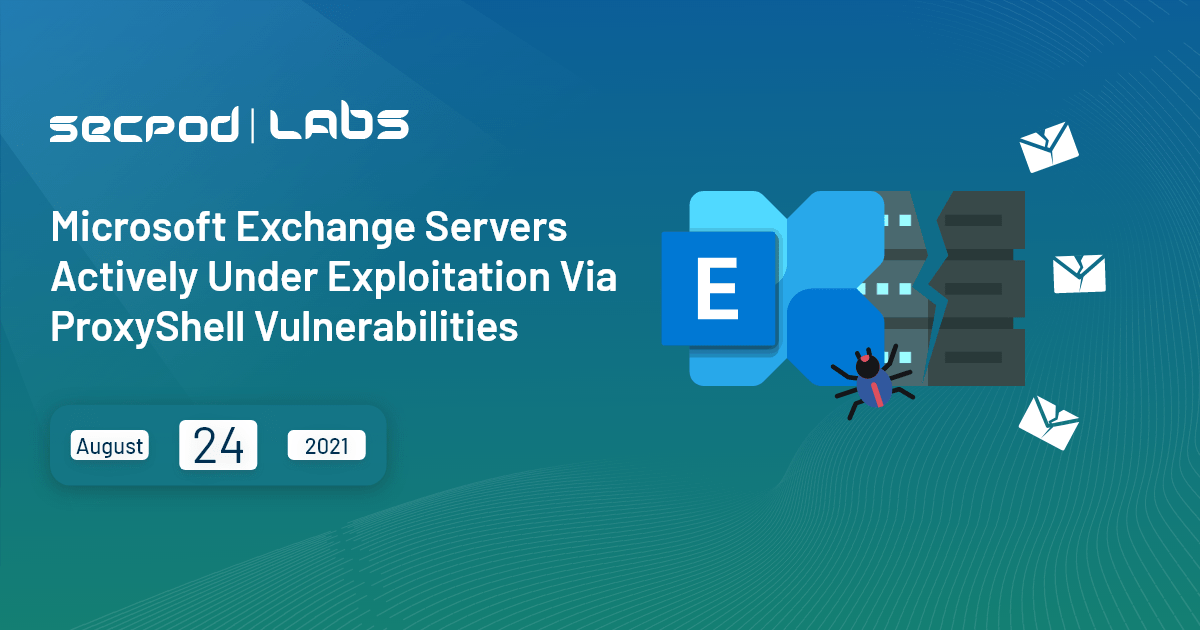 You are currently viewing Microsoft Exchange Servers Actively Under Exploitation Via ProxyShell Vulnerabilities