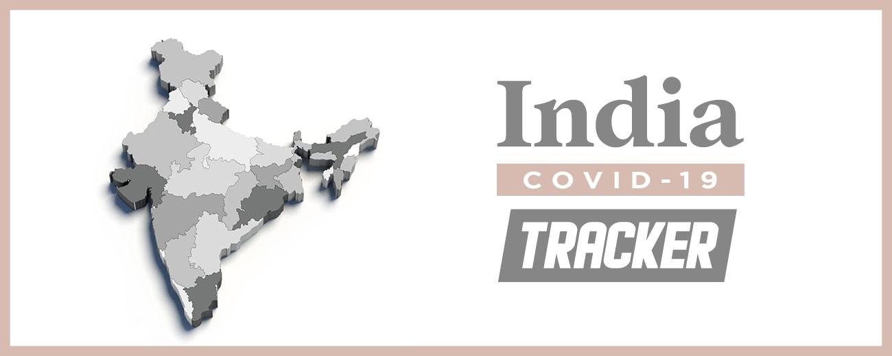 India Coronavirus COVID-19 tracker map