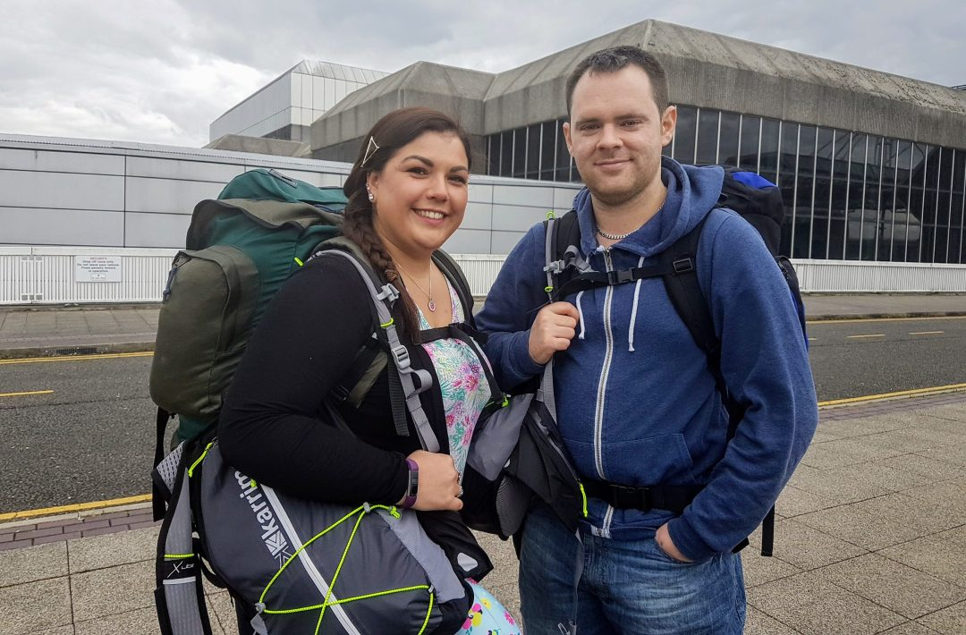 Travelling with a backpack