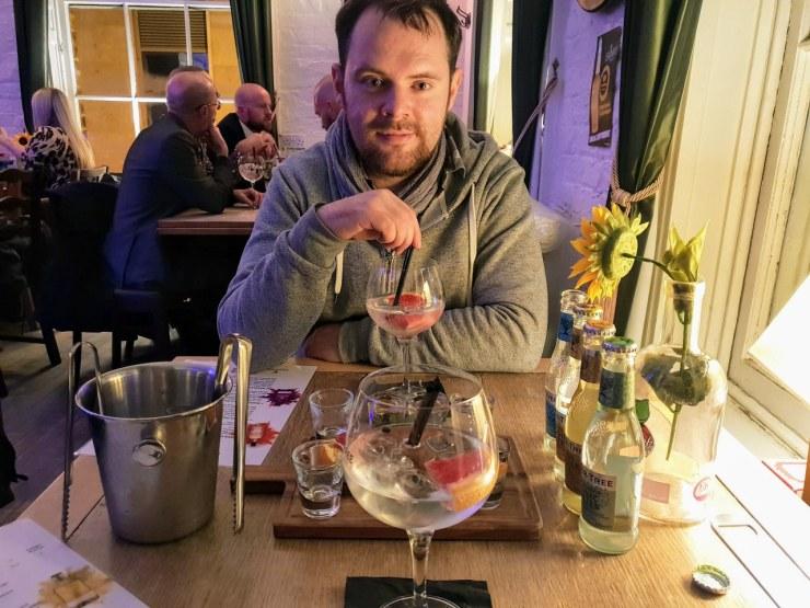 Gin tasting at Jenever