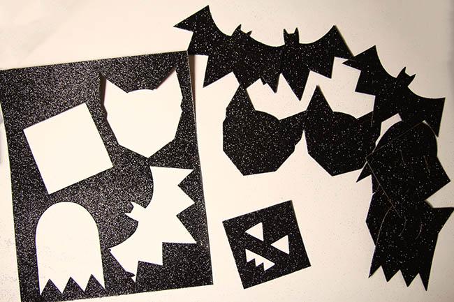 Bunting pieces