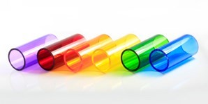 multi colour tube plastics