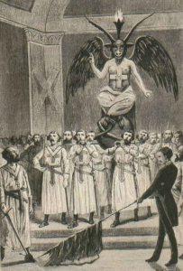 Freemasons-Baphomet