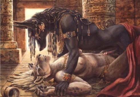 Anubis & Sekhmet