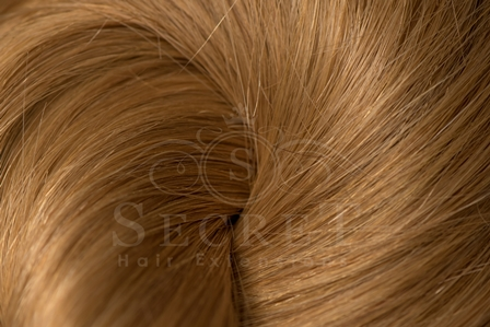 Celebrity Secret Micro Ring Hair Extensions Strawberry Blonde 27