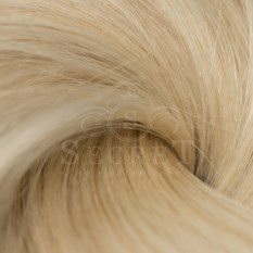 Remy Human Hair Extensions Platinum Blonde 60A