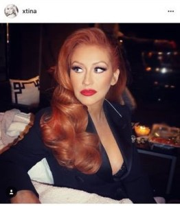 celebrity hair extensions christina aguilera