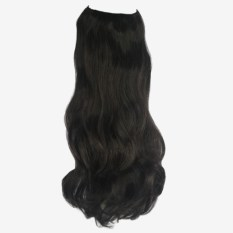Synthetic Hair Extensions Darkest Brown 2