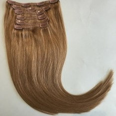 clip in hair extensions light ash brown 10