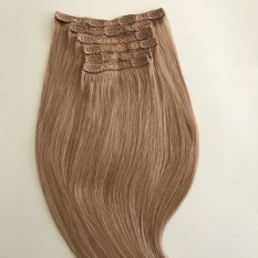 clip in hair extensions dark ash blonde 18