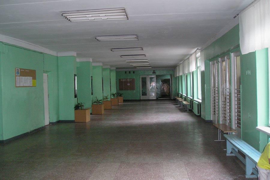 Большой холл младшей школы
