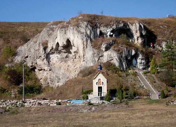 Скальный монастырь в Рукомыше