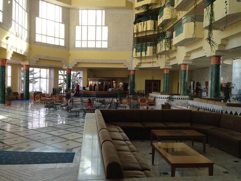 Лобби отеля El Mourandi Menzah
