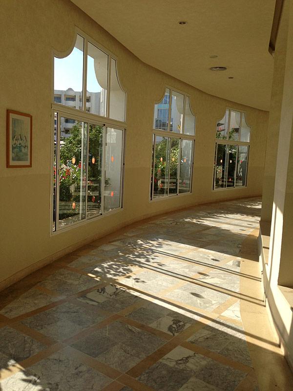 Коридоры отеля El Mourandi Menzah