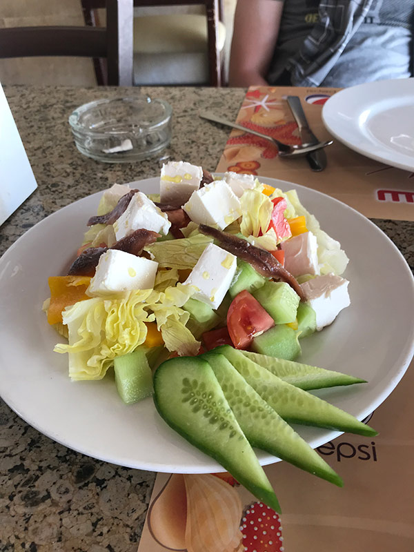 Еда в отеле
