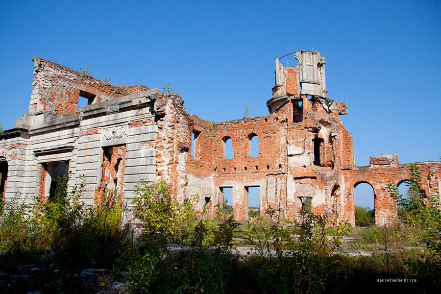 Дворец Терещенко в Денишах