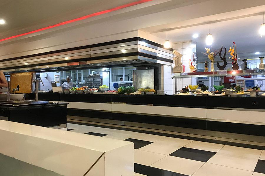 Столовая в отеле Сидекум