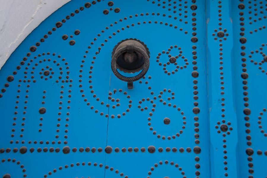 Двери в Сиди-бу-Саид