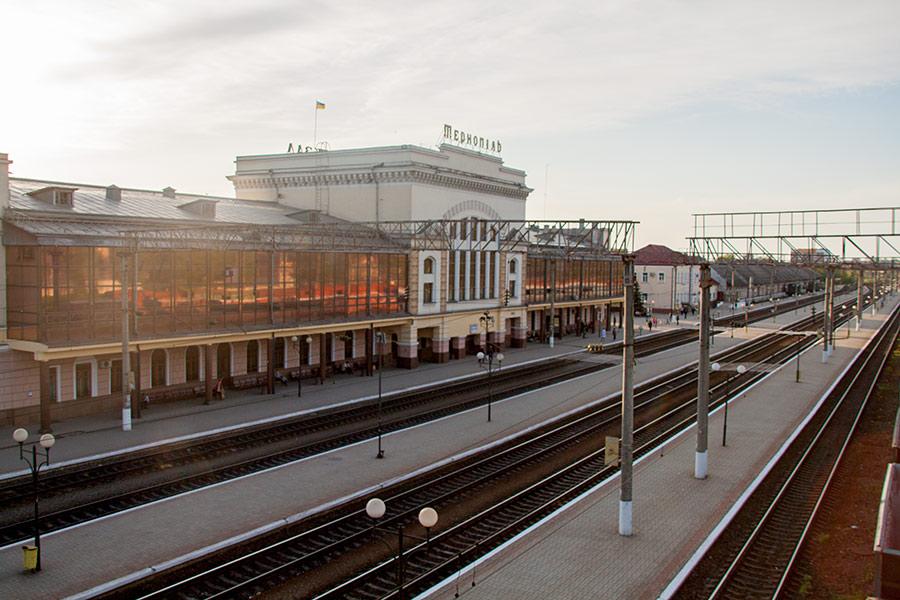 Вокзал в Тернороле