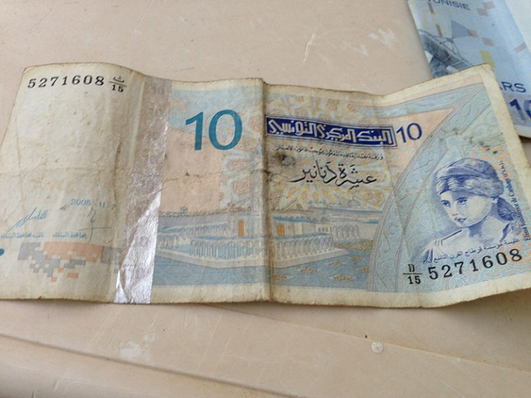 10 тунисских динаров