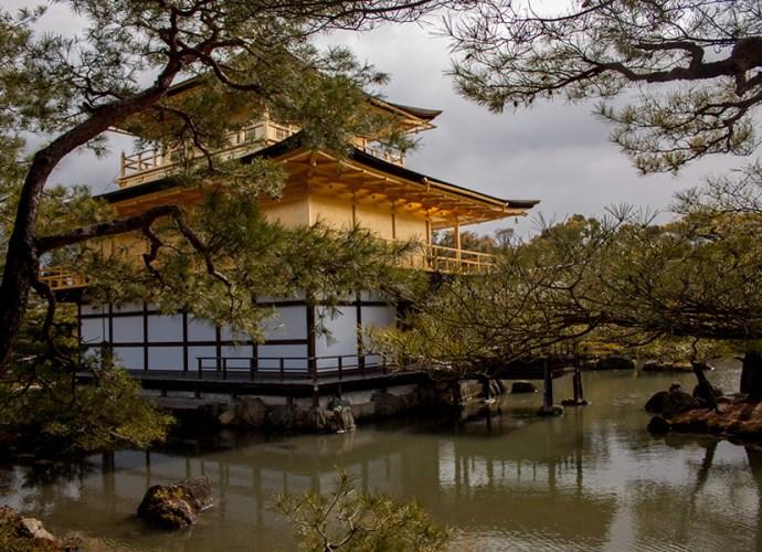 Kinkaku-ji — Золотой павильон в Киото