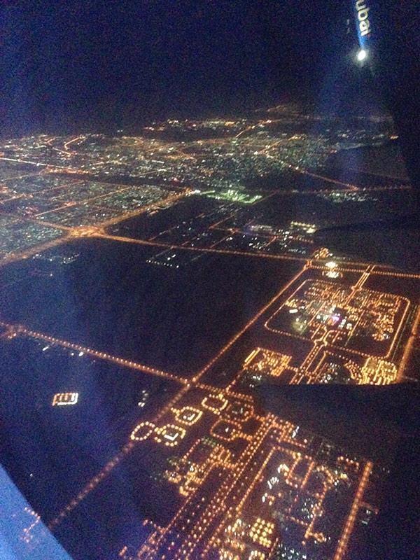 Приземление в Дубае