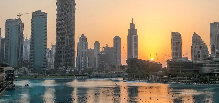 Фонтаны в Дубае