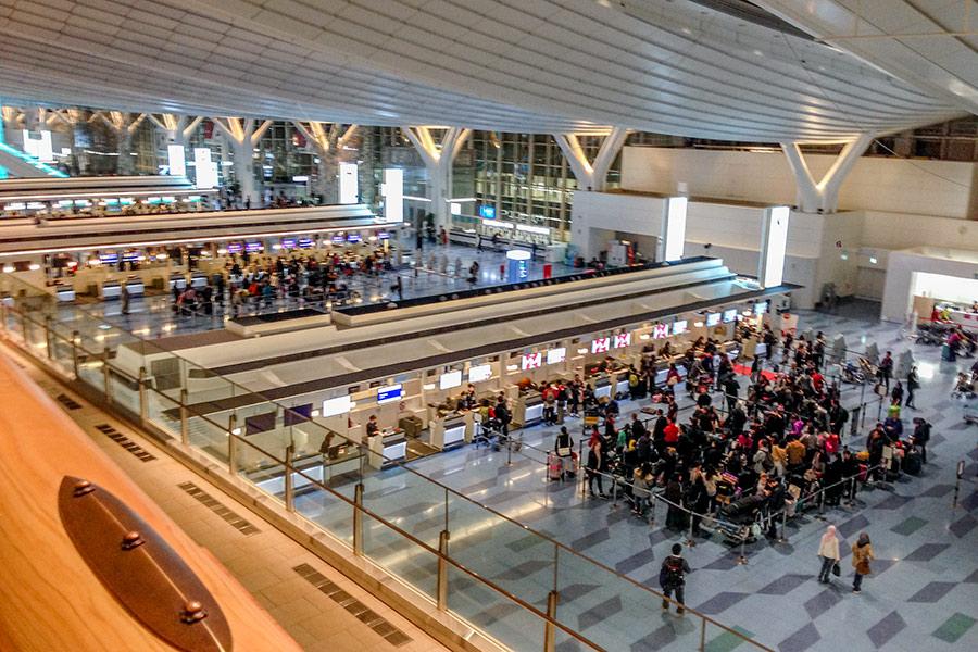 Аэропорт Ханеда Токио