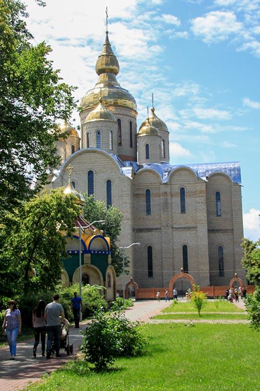 Свято-Михайловский кафедральный собор в Черкассах