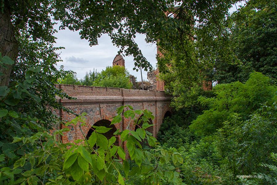 Мост над рвом