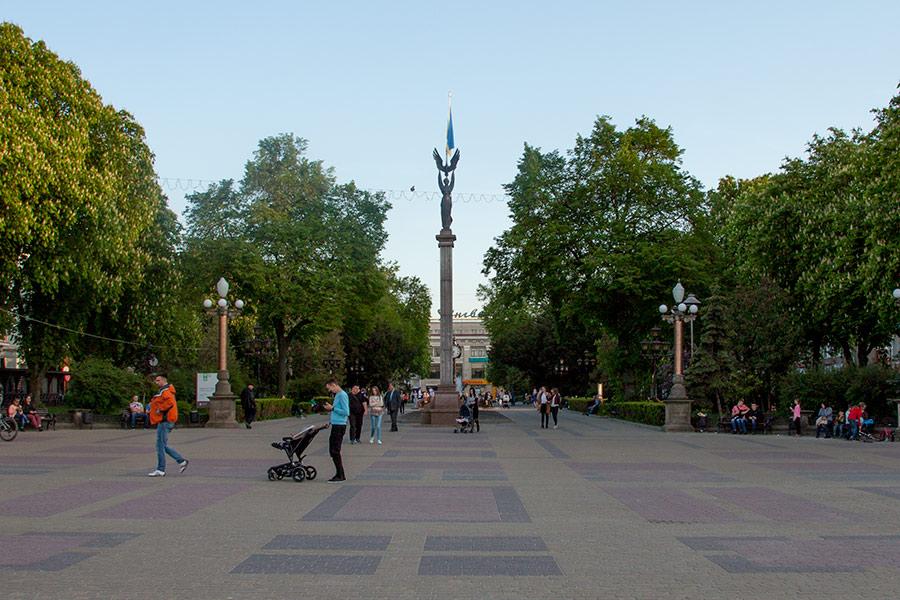 Бульвар в Тернополе