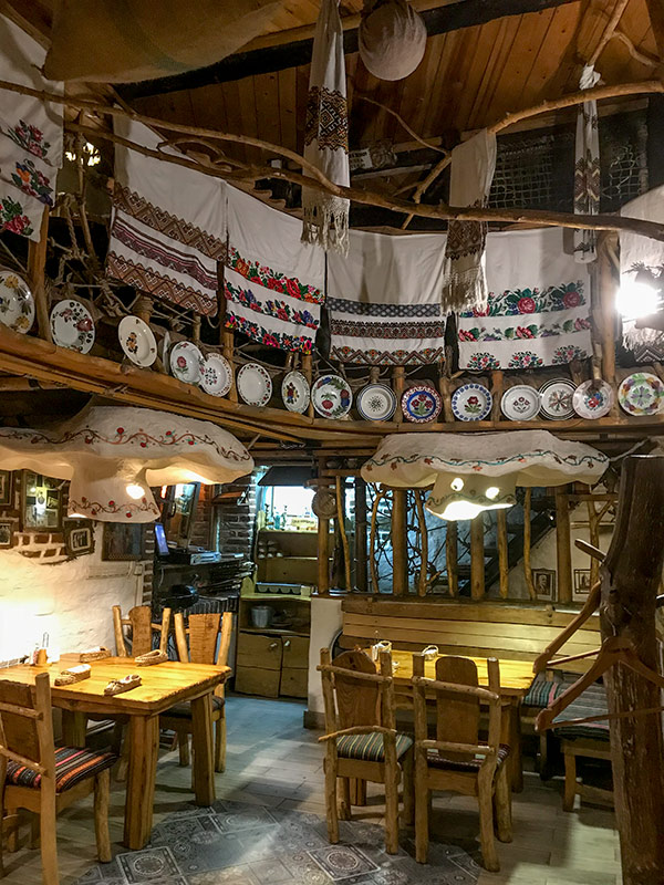 В ресторане Старий млин