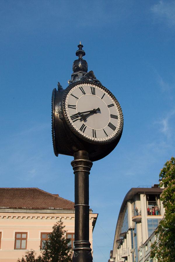Часы в Тернополе