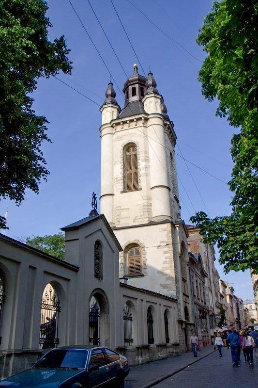 Колокольня Армянского собора