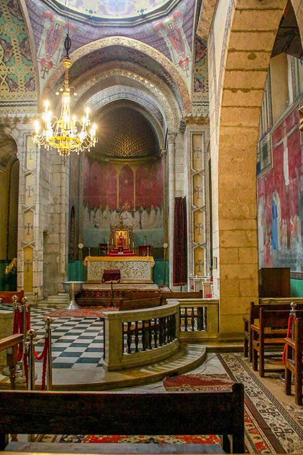 Самая старая часть церкви.
