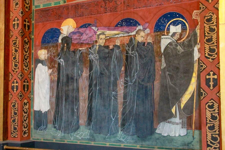 Похороны Святого Одилона